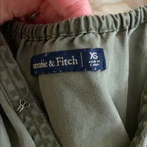 Abercrombie & Fitch Pants & Jumpsuits - Olive green romper